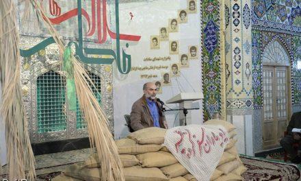 یادواره شهدای سادات در بیت الرضا(ع) بافق برگزار شد