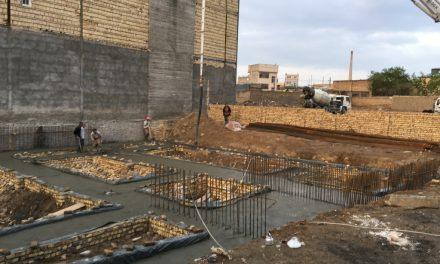 ساخت بیت الرضا در مشهد مقدس شروع گردید (حسینیه ی بافقی ها)