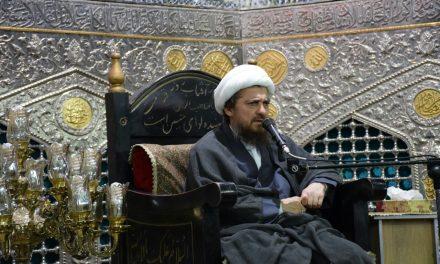 گزارش تصویری شب اول سخنرانی دانشمند معظم آیت الله تبریزیان بیت الرضا علیه السلام