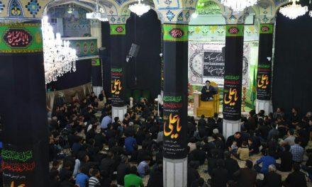 گزارش تصوریرے  مراسم احیاء شب بیست و سوم، ماه مبارڪ رمضان سومین شـب قـدر بیت الرضا علیه السلام-بافق