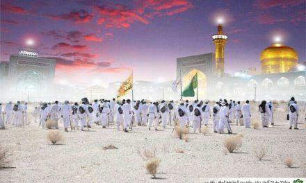 زمان ورود کاروان به مشهد مقدس