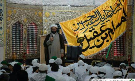 حجه الاسلام و المسلمین گنابادی نژاد  مسئول سازمان فرهنگی آستان قدس رضوی در استان یزد
