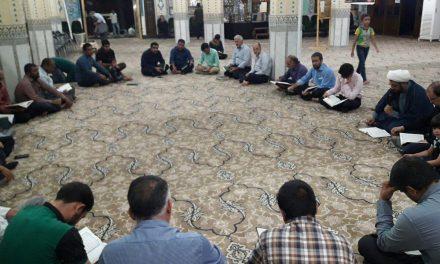 برگزاری جلسه قرآن به یاد شهید بزرگوار محسن حججی در موسسه بیت الرضا علیه السلام