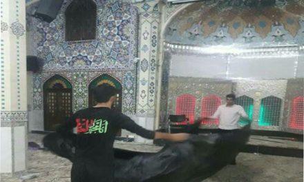 حال و هوای بیت الرضا قبل از شروع ماه محرم