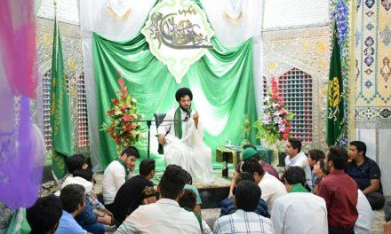 مراسم مولودی خوانی عید غدیر