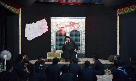 مراسم شب اول محرم در بیت الرضا(ع)+ویدئو