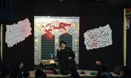 مراسم شب سوم محرم در بیت الرضا+ویدئو