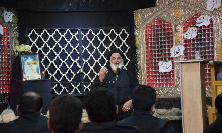 مراسم گرامی داشت زائر پیاده محمدرضا کریمی