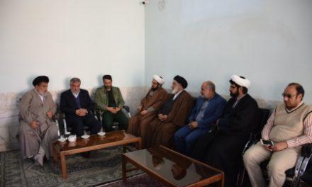 مراسم افتتاحیه نمایندگی دفتر آستان قدس در بیت الرضا(ع)