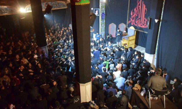 مراسم عزاداری شهادت حضرت زهرا (ع)یادبود بهزادمیرابی