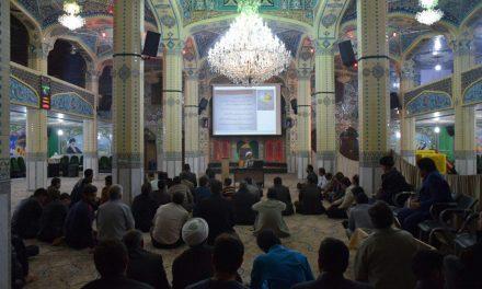 اولین جلسه ی آموزش خادمیاری رضوی در بیت الرضا(ع)