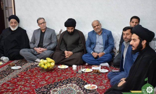 اولین جلسه مسئولین دفاترآستان قدس رضوی استان یزد