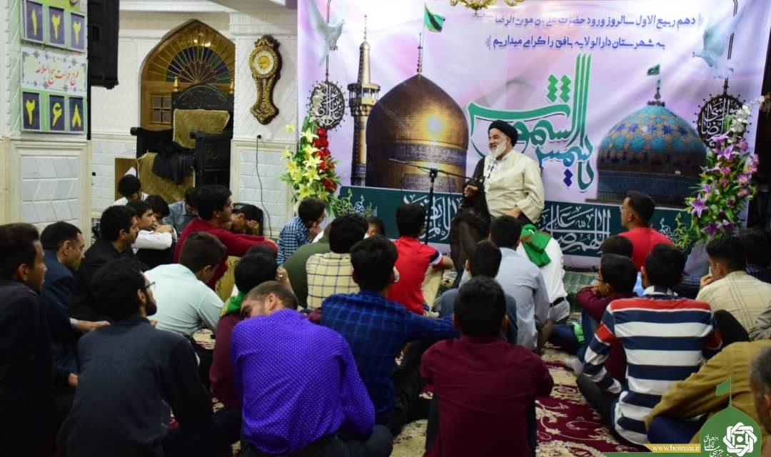 مراسم جشن سالروز ازدواج حضرت محمد مصطفی(ص) و حضرت خدیجه کبری(س)