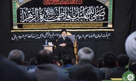 سخنرانی حجت الاسلام والمسلمین هاشمی نژاد