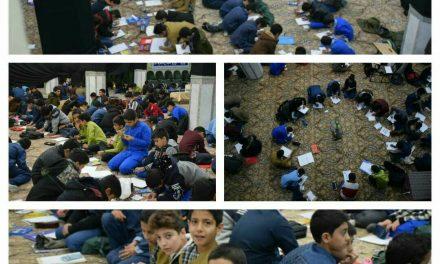 برگزاری مسابقه نقاشی در بیت الرضا علیه السلام