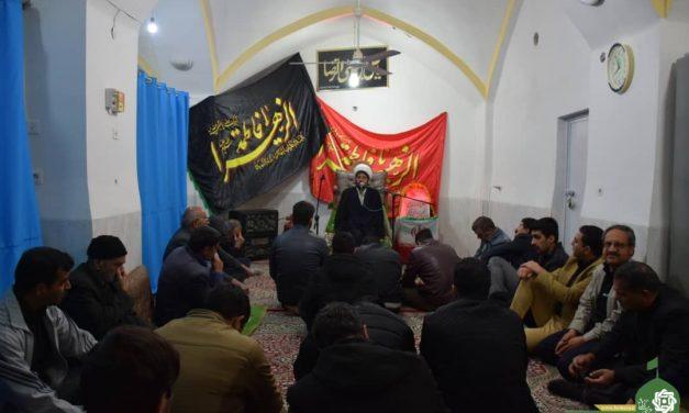 مراسم شهادت حضرت صدیقه ی طاهره (س) مسجد سجادیه