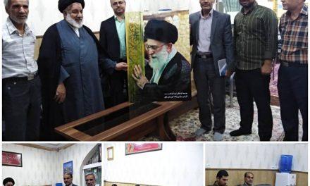 جلسه نمایندگی آستان قدس رضوی در شهرستان