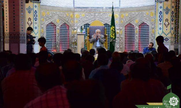 قرائت فرازهایی از دعای ابوحمزه ثمالی