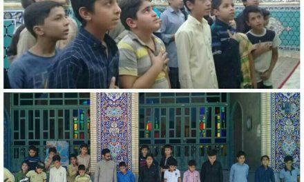 حضور نوجوانان رضوی در حرم امامزاده عبدالله (ع)