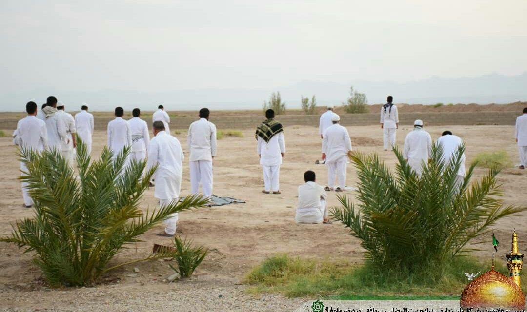 روز دوازدهم کاروان پیاده امام رضا (ع)