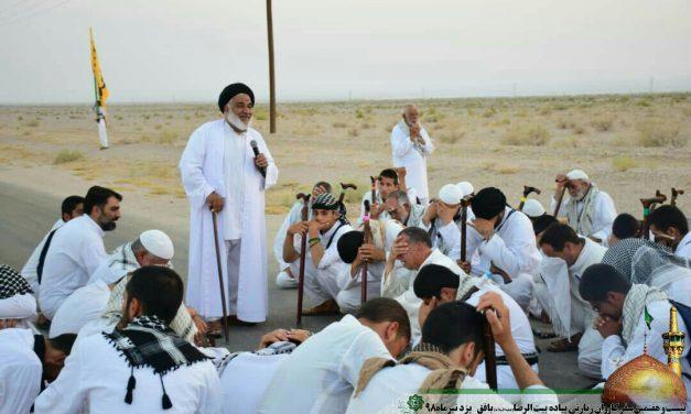 روز سیزدهم کاروان پیاده امام رضا (ع)