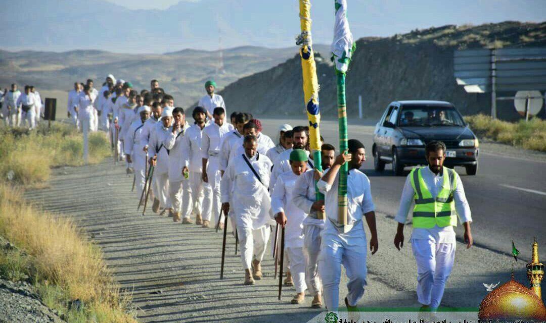 روز بیست و سوم کاروان پیاده