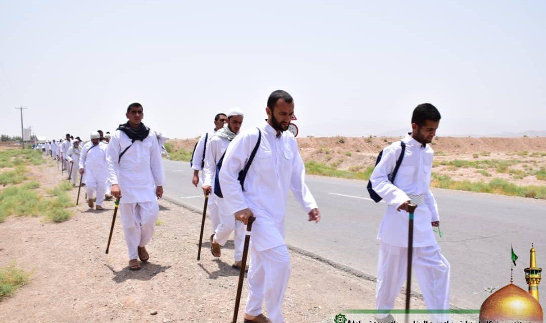 روز هفتم کاروان پیاده امام رضا (ع )