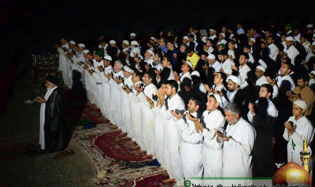 روز هشتم کاروان پیاده امام رضا (ع)