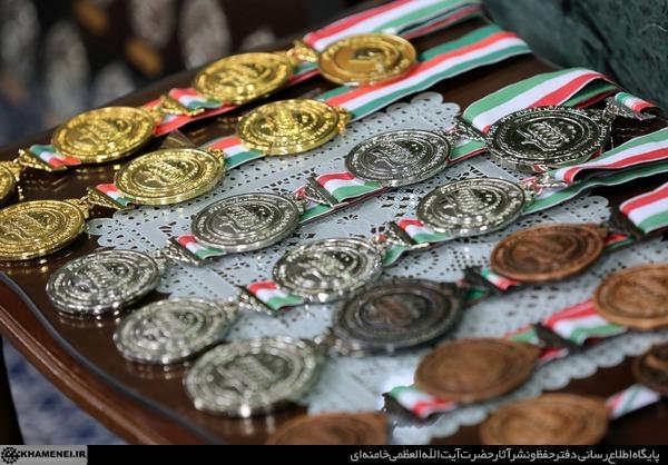 دیدار مدالآوران المپیادها و اعضای تیم ملی والیبال