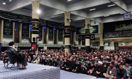 بیانات رهبری در دیدار جمعی از موکبداران عراقی
