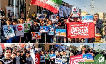 حضور اعضا طرح شهید چمران درراهپیمایی22بهمن