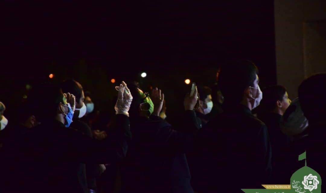مراسم احیاء شب بیست و سوم