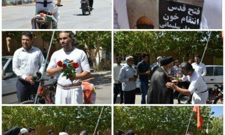 دوچرخه سواری به عشق حاج قاسم سلیمانی